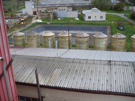 Realization of biogas
